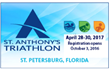St. Anthony's Triathlon Announced as 2017 USAT Regional Championship