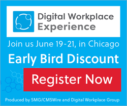 Digital Workplace Experience 2017 Early Bird Registration