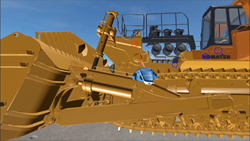 Virtual Reality Experience of Construction Equipment Machines
