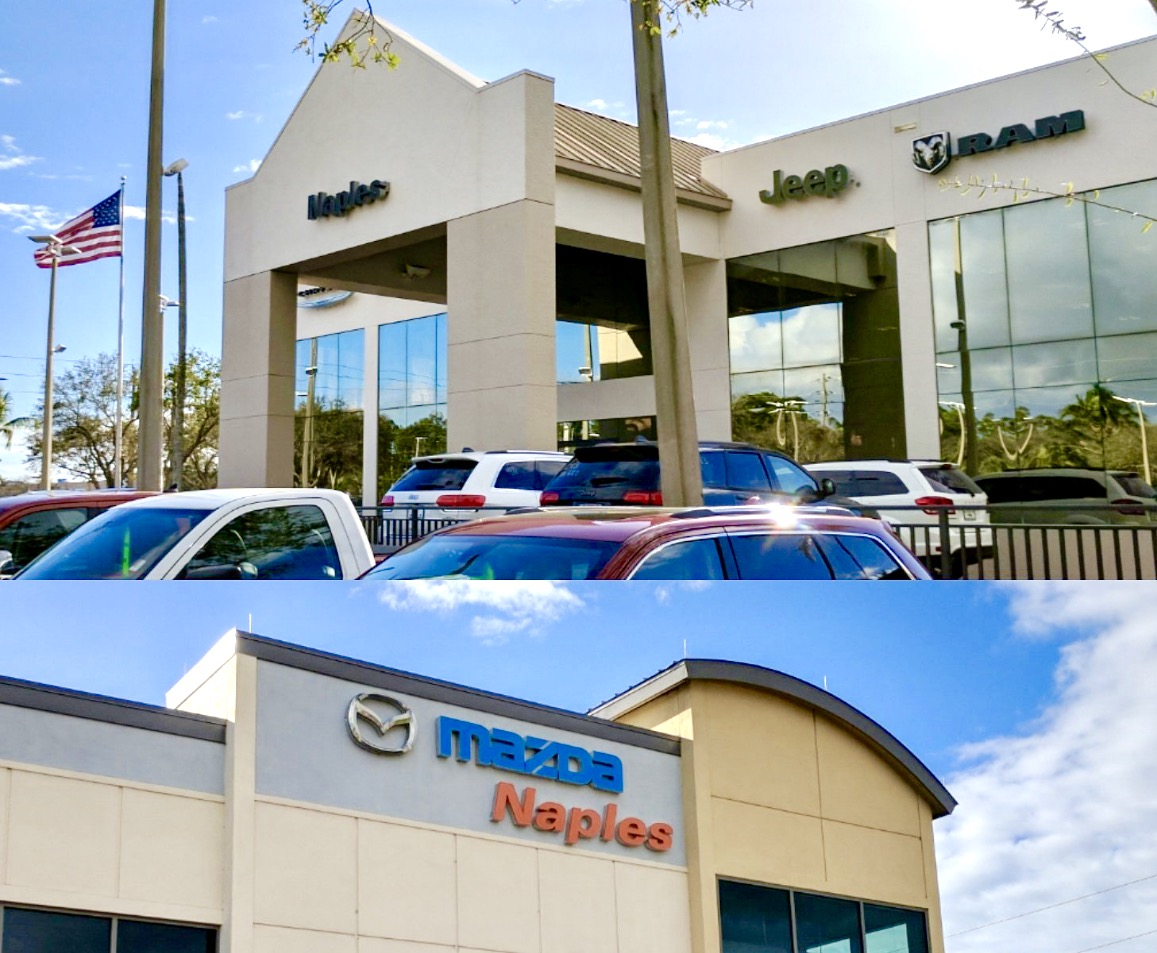 Naples Mazda And Naples Chrysler Dodge Jeep Ram Acquired