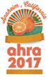 AHRA 45th Annual Meeting Keynote Speakers Announced