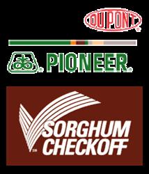 DuPont Pioneer and Sorghum Checkoff Logos