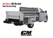All New Steel Service Body Bed by CM Truck Beds