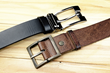 This invention is a new type of belt that functions as a portable battery pack.
