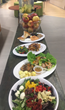 A sample of the heart-healthy meals being served at Apple a Day Cafe.