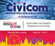 Civicom Exhibits Latest Global Solutions in Market Research at Insight Show UK 2017
