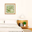 Greenery Bedroom - Art by Erin Clark