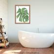 Greenery Bathroom - Art by Jenny Kraft