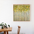 Greenery Dining Room - Art by Libby Smart