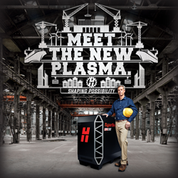 Hypertherm's new XPR300 X-Definition Plasma cutting system