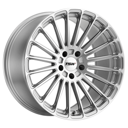 TSW Alloy Wheels - the Turbina in Titanium Silver