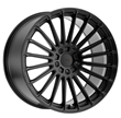 TSW Alloy Wheels - the Turbina in Matte Black
