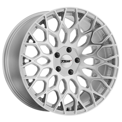 TSW Alloy Wheels - the Oslo in Silver