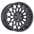 TSW Alloy Wheels - the Oslo in Matte Gunmetal