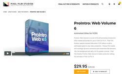 ProIntro Web Volume 6 - FCPX Intros - PFS