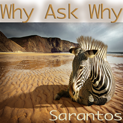 Sarantos song artwork Why Ask Why solo music artist Voice of Chicago new pop rock free release ASK Childhood Cancer Foundation Charity