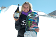 Monster Energy's Jamie Anderson Takes Second and Sven Thorgren Takes Third in Slopestyle at Burton US Open Snowboarding