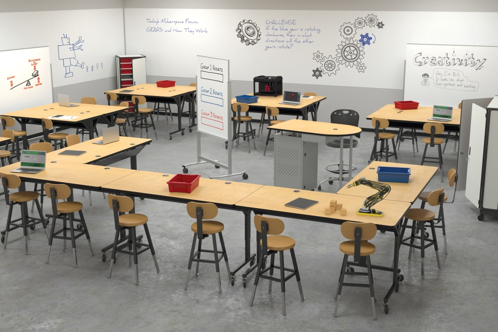 Modern Classroom Furniture ~ Worthington direct celebrates years in business