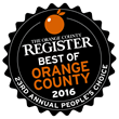 Voted Best of Orange County 2016