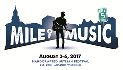 Mile of Music in Appleton, Wisconsin