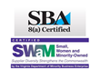 SWaM & SBA 8(a) Certified