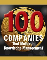KMWorld 100 Companies That Matter in Knowledge Management 2017 Logo