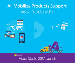 Mobilize.Net VBUC, WebMAP, Silverlight bridge support Microsoft Visual Studio 2017
