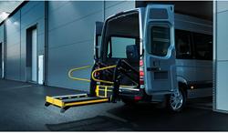 BraunAbility Q-Series inboard wheelchair lift