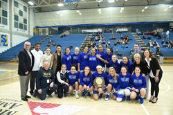 The Salt Lake Community College women's basketball team won its first Region 18 Championship in 10 years, moving on to Nationals in Texas later this month.