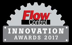 Flow Control, Innovation Awards, logo, fluid handling