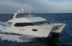 Horizon Power Catamarans PC60 luxury yacht