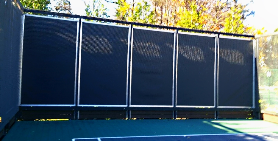 Athletic Club Quiets Paddle Ball Court Noise With