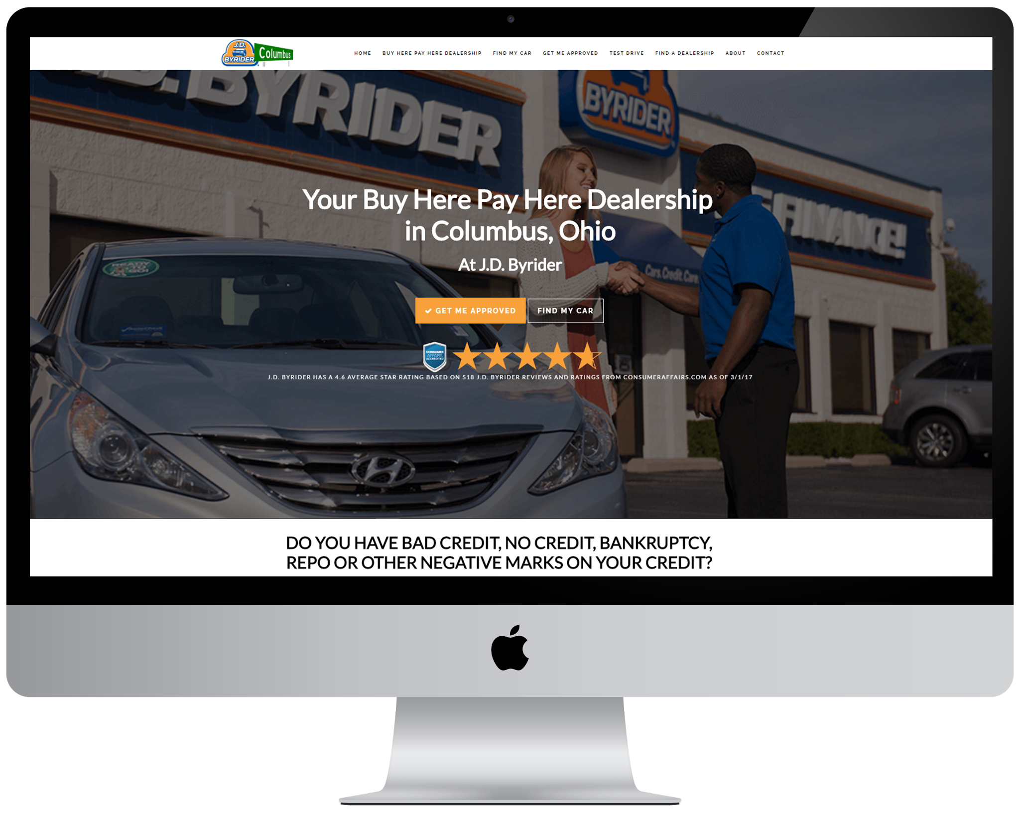 j d byrider launches new website to assist used car buyers in columbus ohio with credit challenges. Black Bedroom Furniture Sets. Home Design Ideas