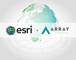 Array Analytics Partners with Esri