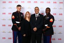 Toys for Tots US Marines, Mrs. Judith & Mr Luis Colón