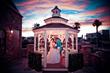 outdoor gazebo wedding in Las Vegas