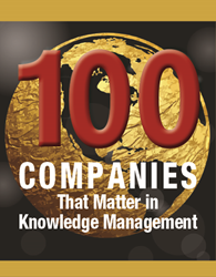 KMWorld Top 100 Companies 2017