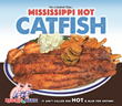 Mississippi Hot Catfish Available At Red Hot & Blue Restaurants For A Limited Time