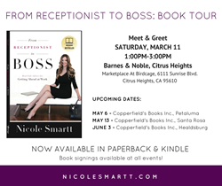 Book Tour Dates, Nicole Smartt