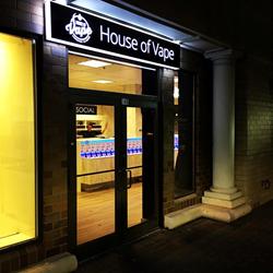 Arlington House of Vape Storefront