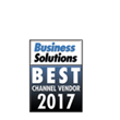 Datalogic is recognized as Best Channel Vendor for 2017 by Business Solutions Magazine