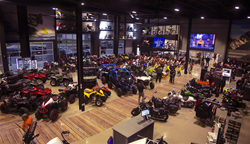 Zeigler Motorsports to host official Grand Opening Event on Saturday, June 14, 2017. IMAGE: Zeigler Motorsports showroom from soft opening on Monday, March 6, 2017 Caldwell & Kerr Advertising press release by Francis Mariela