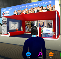EnergySmart Contractor Booth in EGM Connect 3D Virtual Tradeshow