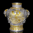 Western style, gilt silver vase, at Gianguan Auctions.