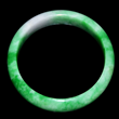 GIA certified jade bangle bracelet at Gianguan Auctions.