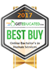 GetEducated.com Releases 2017 Best Buy Rankings of Regionally-Accredited Online Human Services Bachelor Degrees