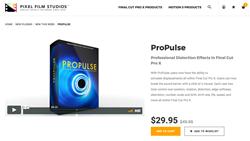 Final Cut Effects - ProPulse - Sound Displacement