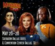 STAR TREK: THE NEXT GENERATION cast, Gates McFadden, Michael Dorn, and Marina Sirtis come to Famous Monsters Convention to celebrate 30th Anniversary.
