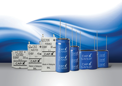 Complete line of CAP-XX small supercapacitors - existing thin prismatics to new compact cylindricals