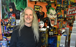 Silva has been collecting Batman memorabilia since he was five-years-old. He went on to hold the Guinness World Record for most Batman objects in a collection from 2013-16,